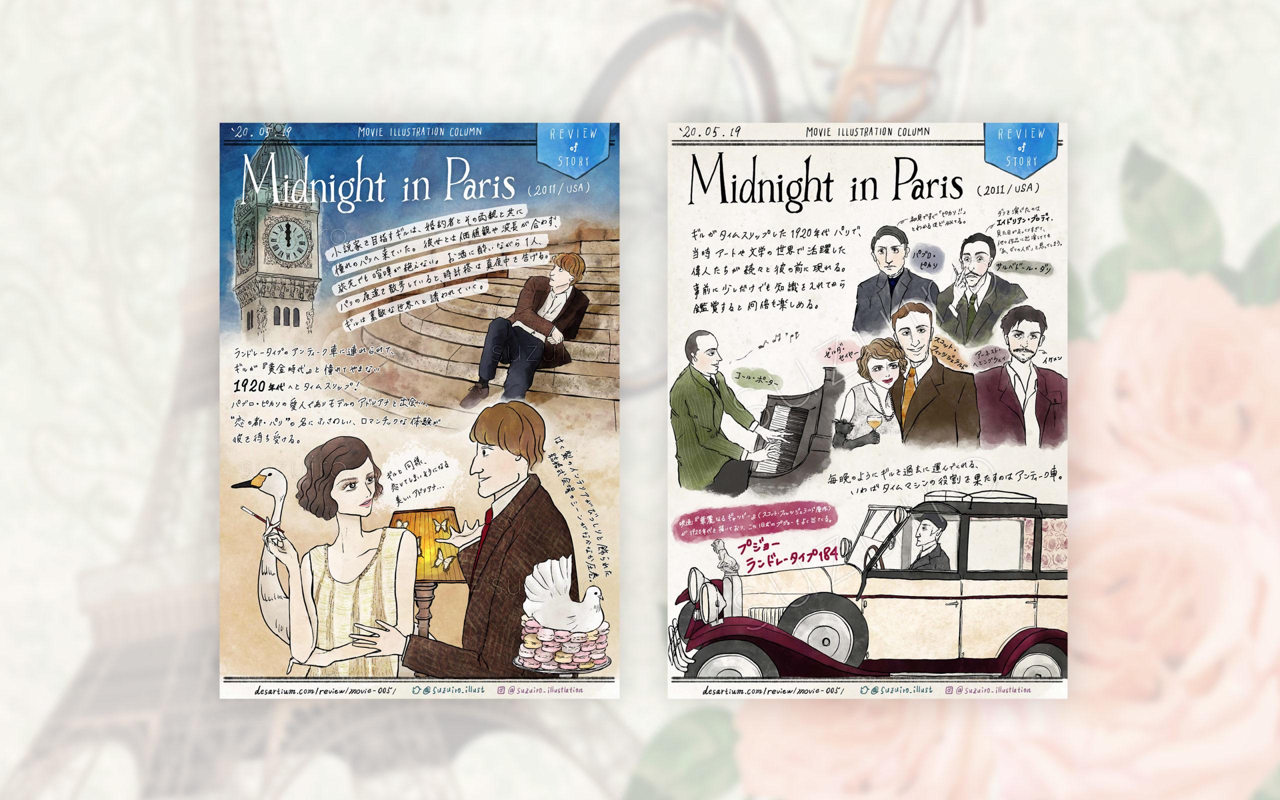 Midnight in Paris|Movie Review Column